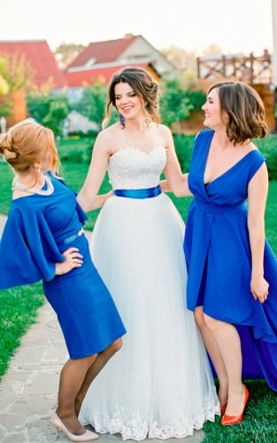 pantone color of the year bridesmaids bride