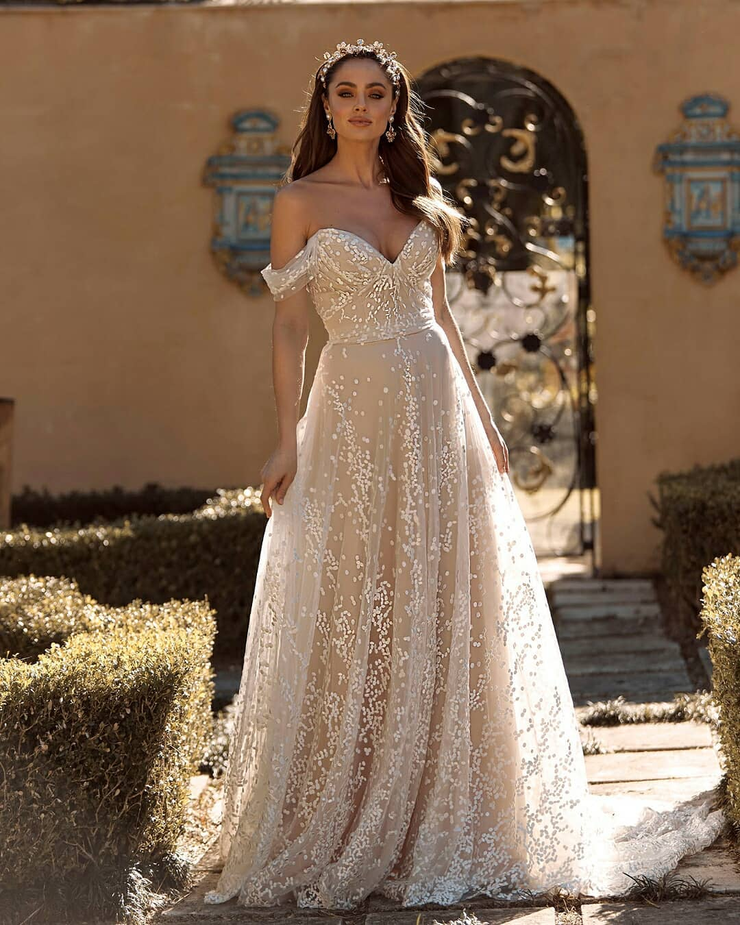best wedding dresses a line sweetheart neckline strapless off the shoulder madilane