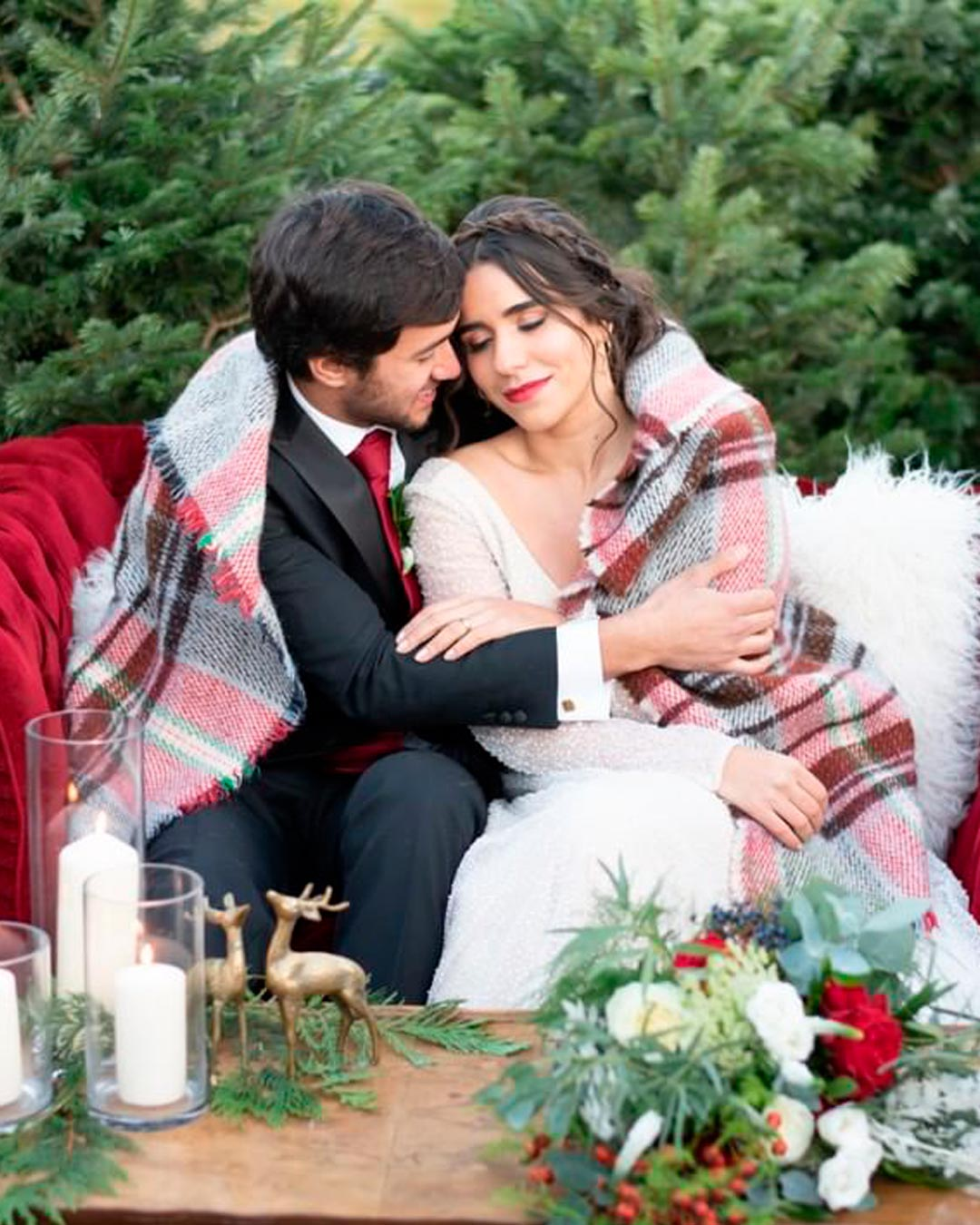 wedding trends blankets winter season