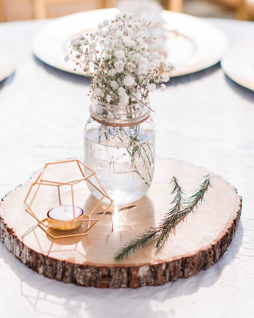 wedding trends decor centerpiece