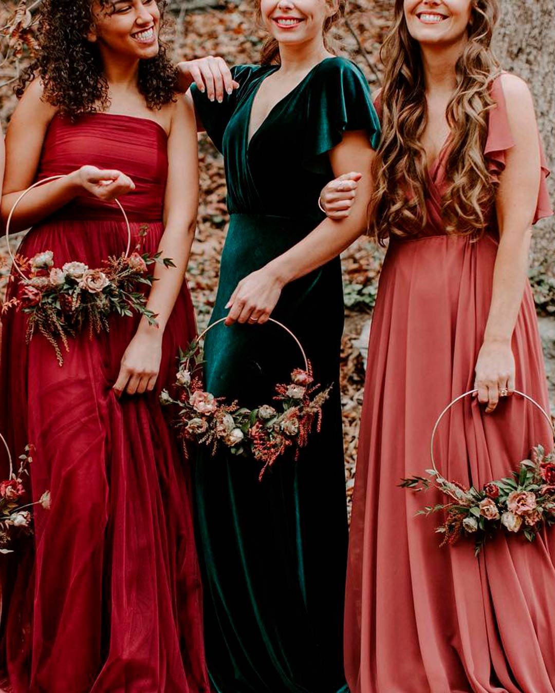 wedding trends dress attire bridesmaid
