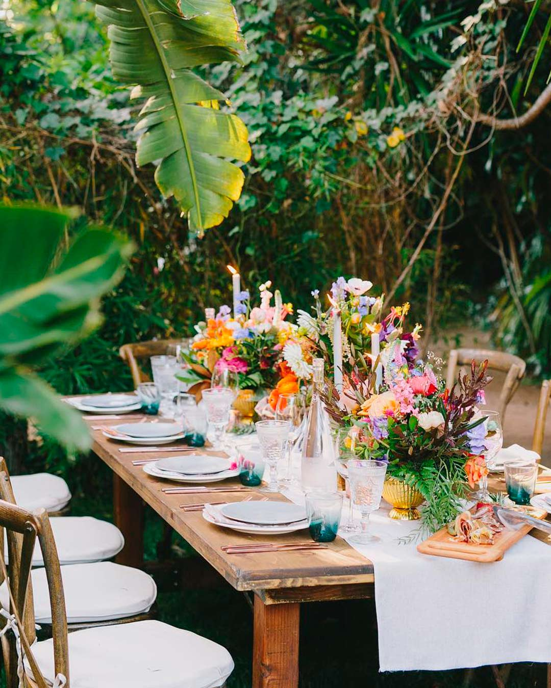 wedding trends garden inspired table setting