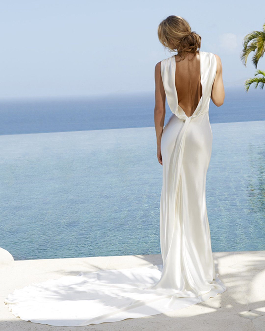 beach wedding dresses sheath simple low back amanda