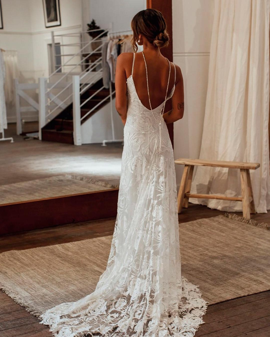 best bridal salon in NYC bride dress design