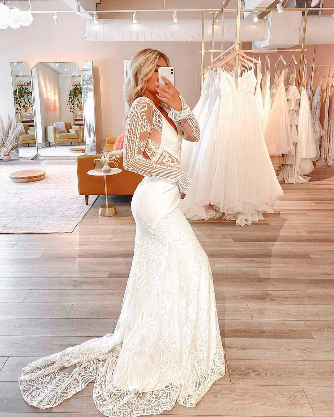 best bridal salon in NYC bride dress