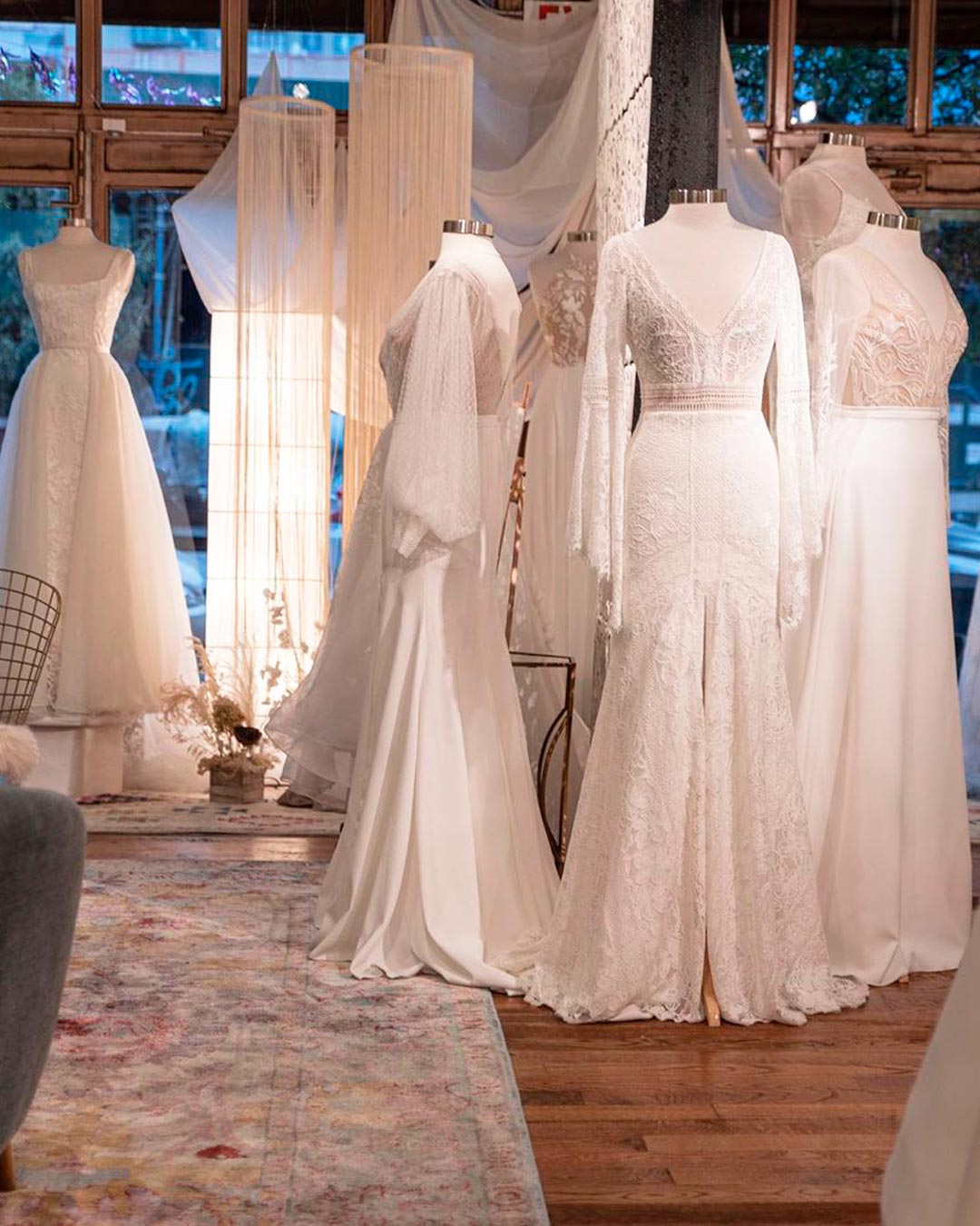 best bridal salon in NYC designs dresses