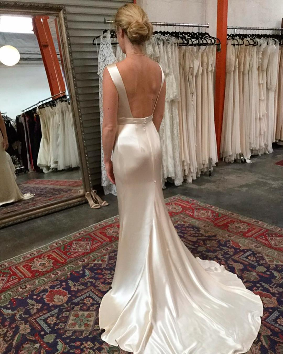 best bridal salon in NYC dress bride