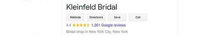 best bridal salon in NYC kleinfeld review