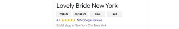 best bridal salon in NYC lovely bride review