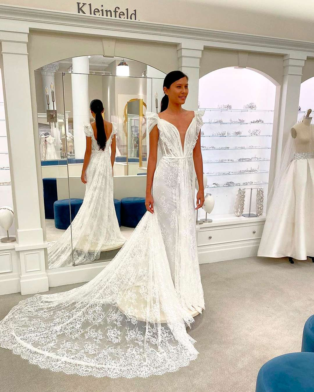 best bridal salons in NYC bride dress