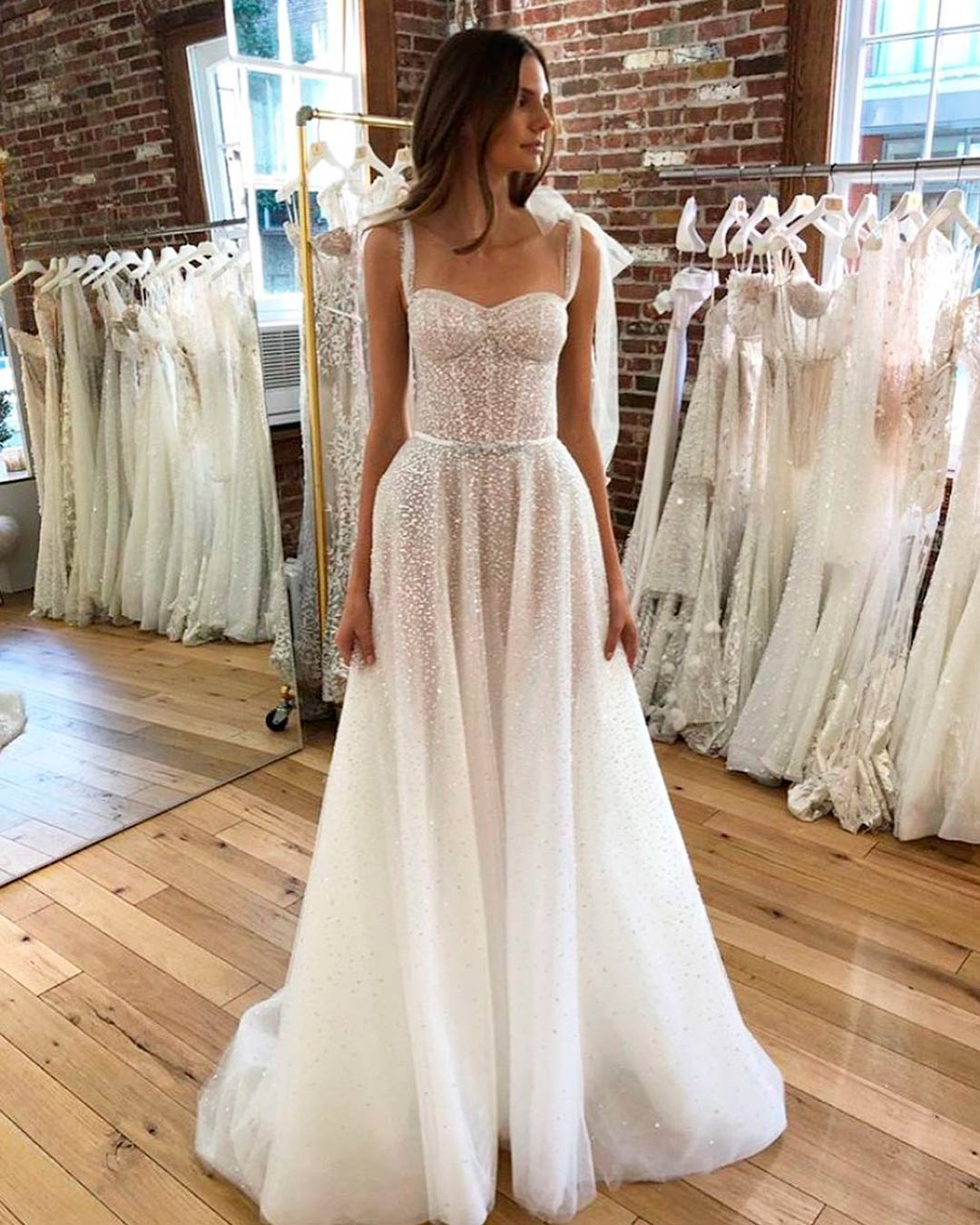 best bridal salons in NYC dress spina