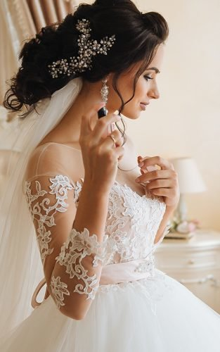 lace wedding dresses fe