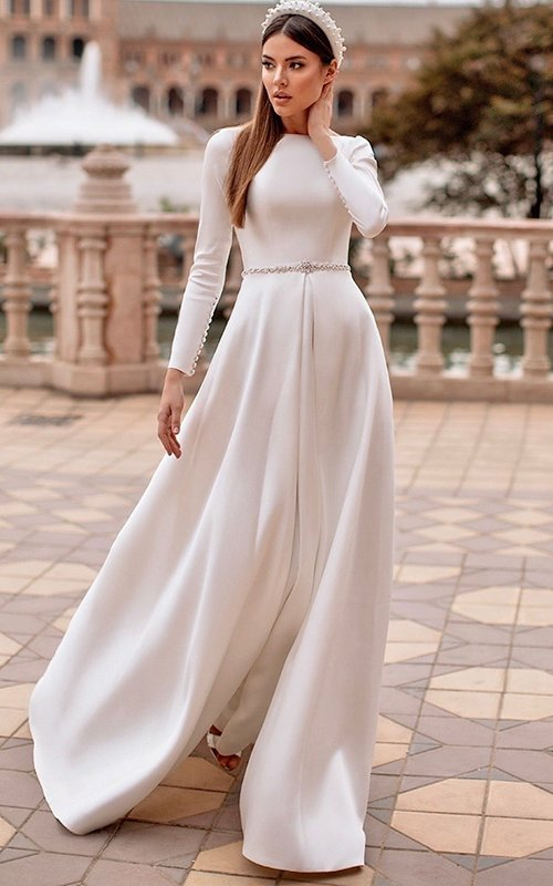 modest wedding dresses fу