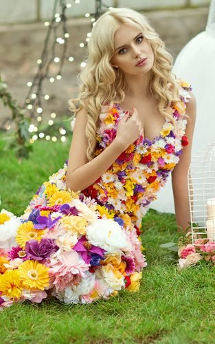 floral wedding dresses fe