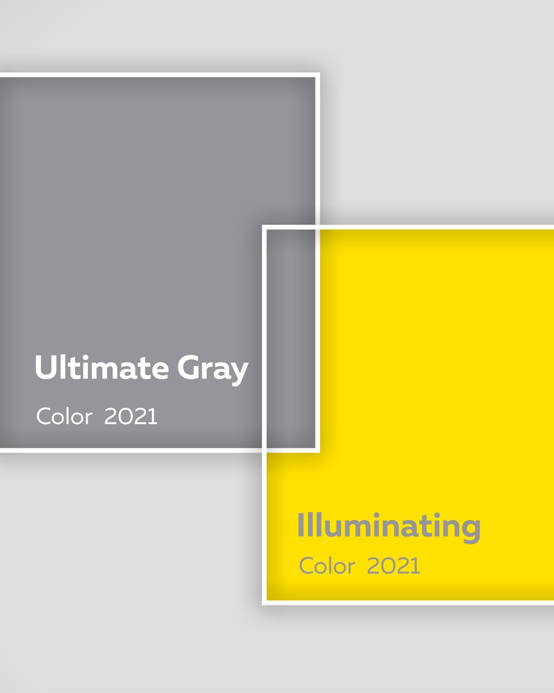 pantone color 2021 ultimate gray illuminating