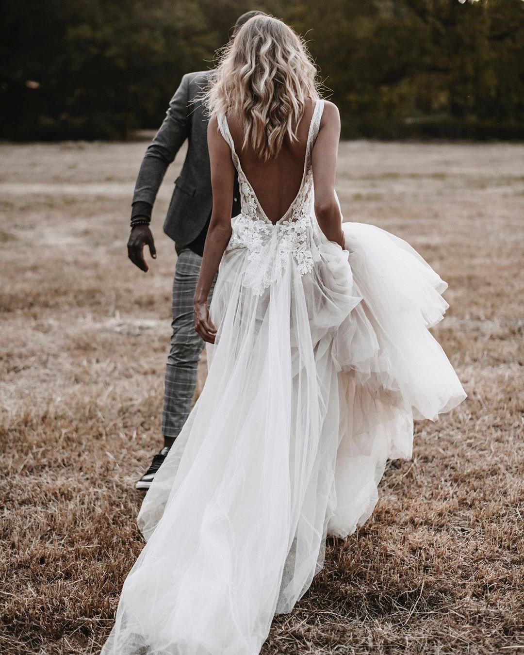 country style wedding dresses a line v back bohemian sexy berta
