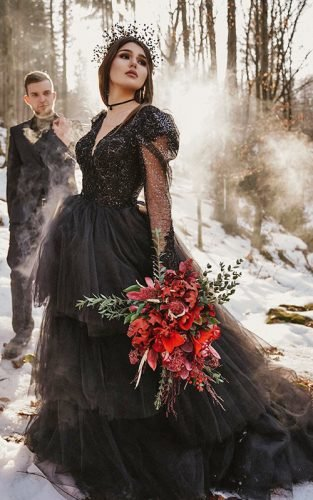 gothic wedding dresses featured kira nova