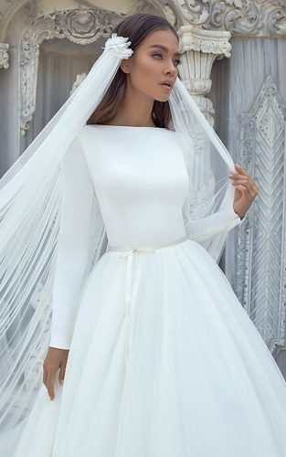 long sleeve wedding dresses lucesposa