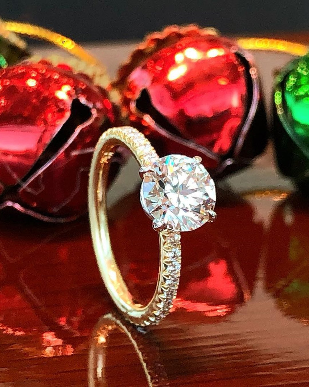 round engagement rings yellow gold engagement ring solitaire