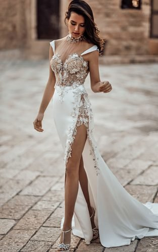 sexy wedding dresses ideas galia lahav