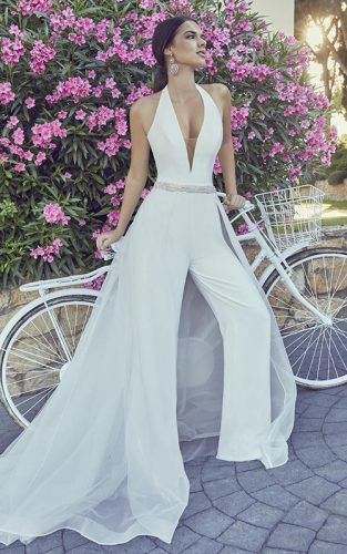 wedding pantsuit ideas featured