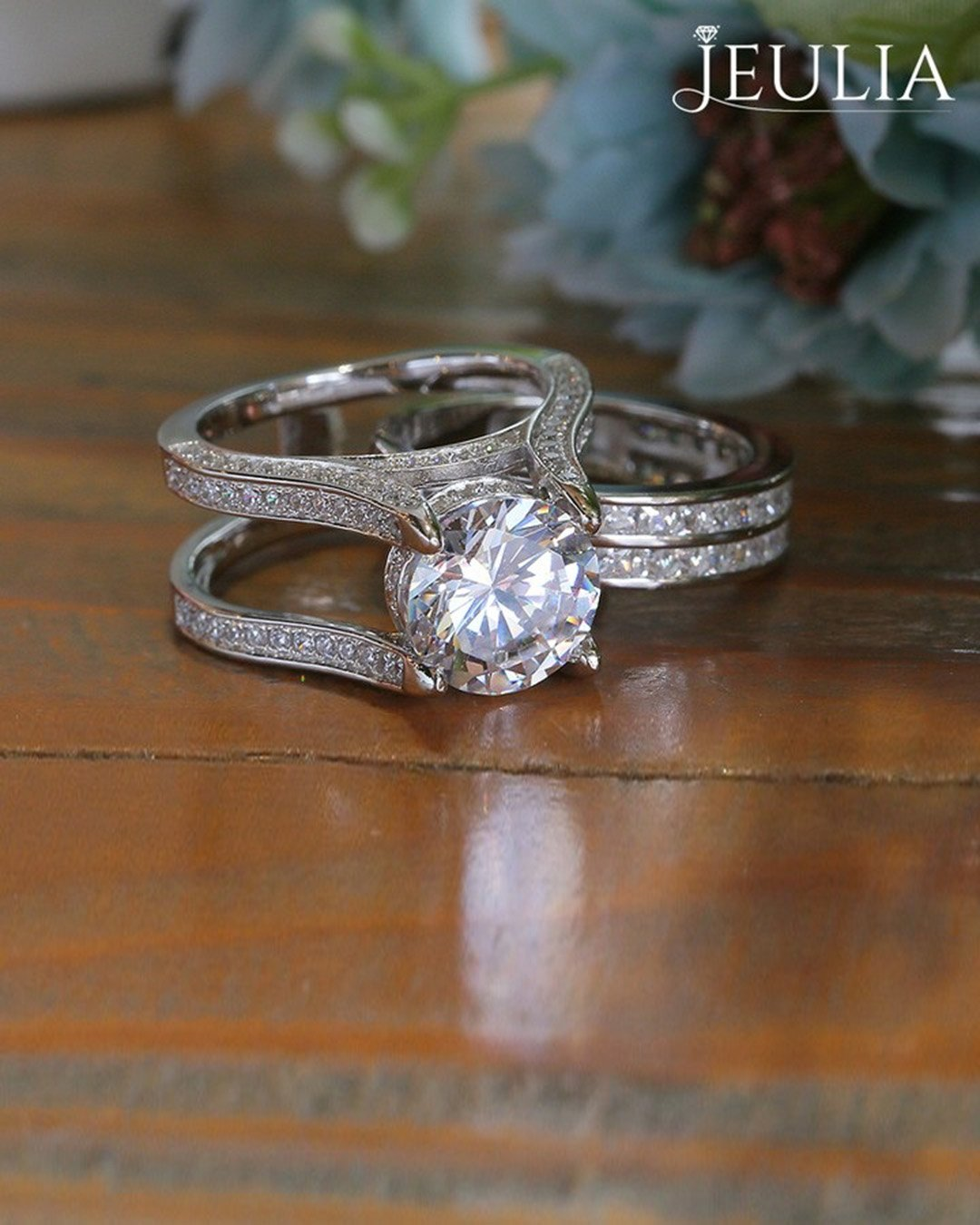 wedding ring sets modern rings white gold ring