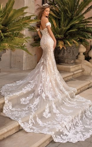 mermaid wedding dresses featured
