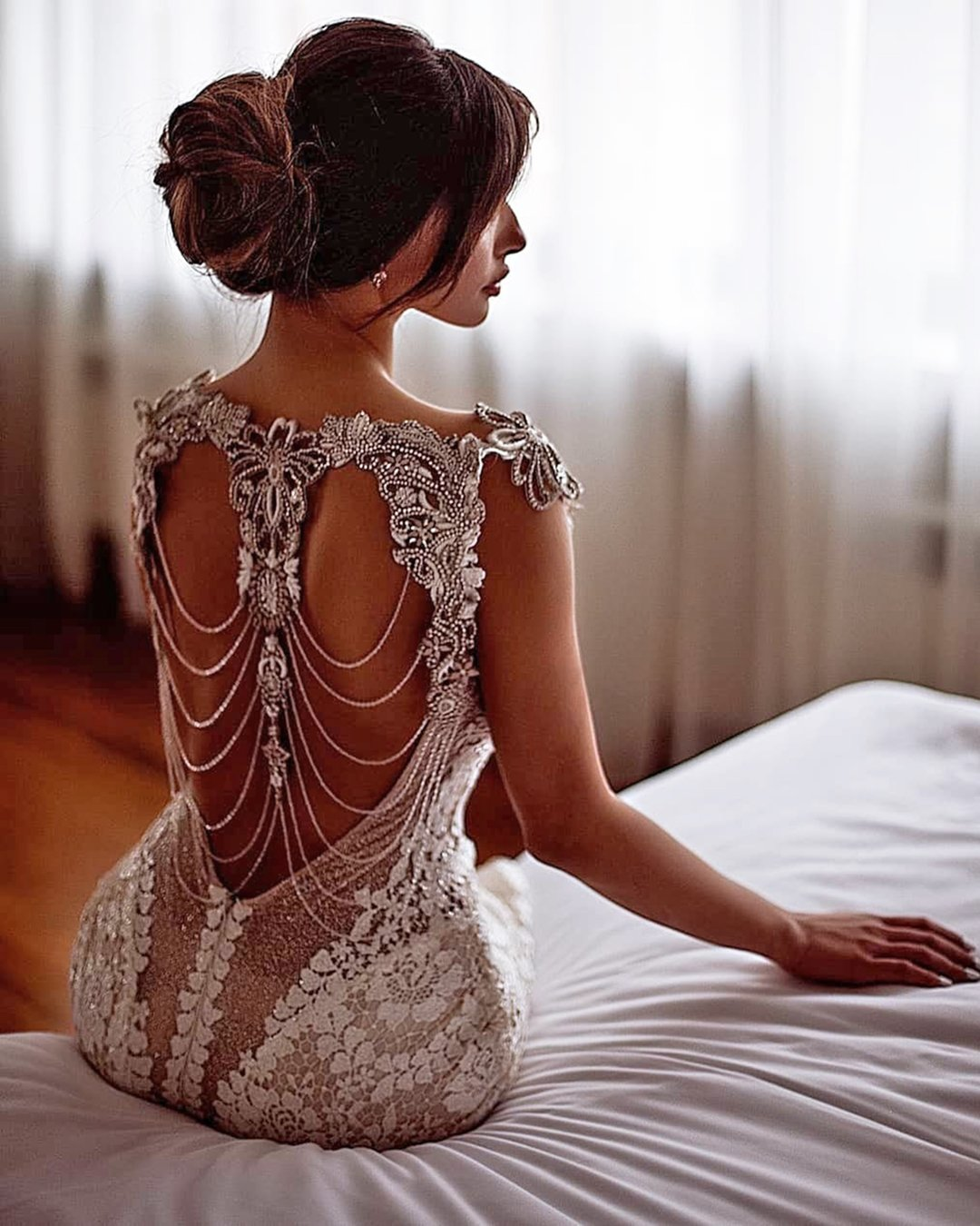 vintage inspired wedding dresses open back galialahav