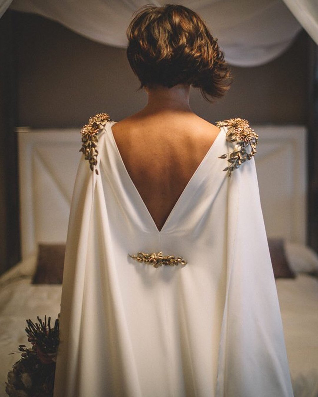 vintage inspired wedding dresses simple v back greek style alavirulephoto