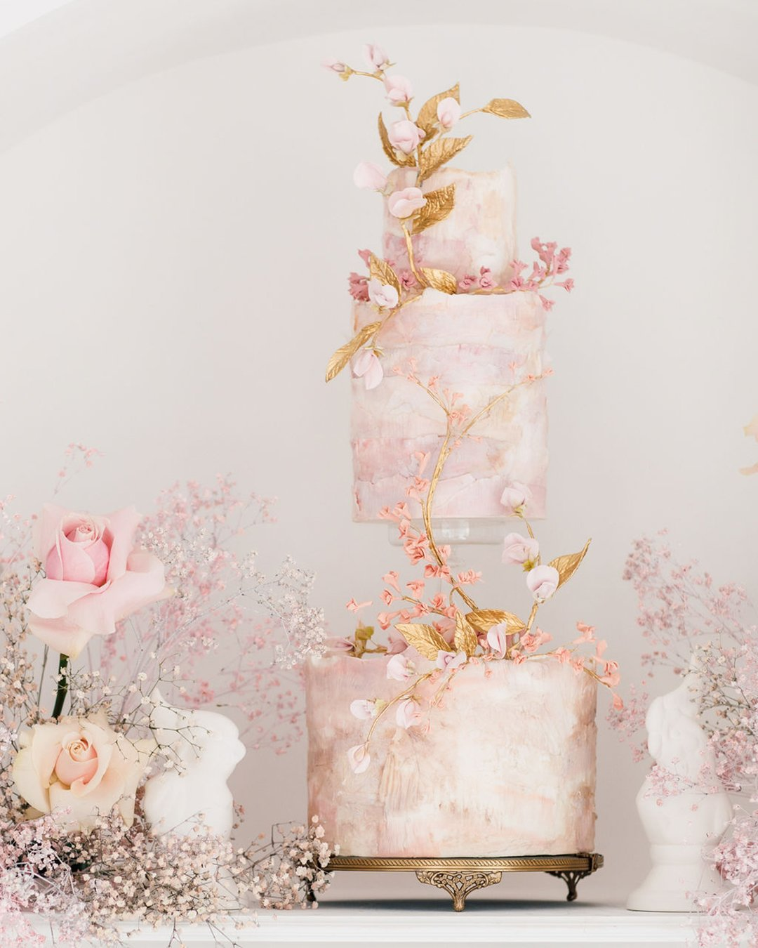 wedding cake trends tebder sqiare cake nadiaandco