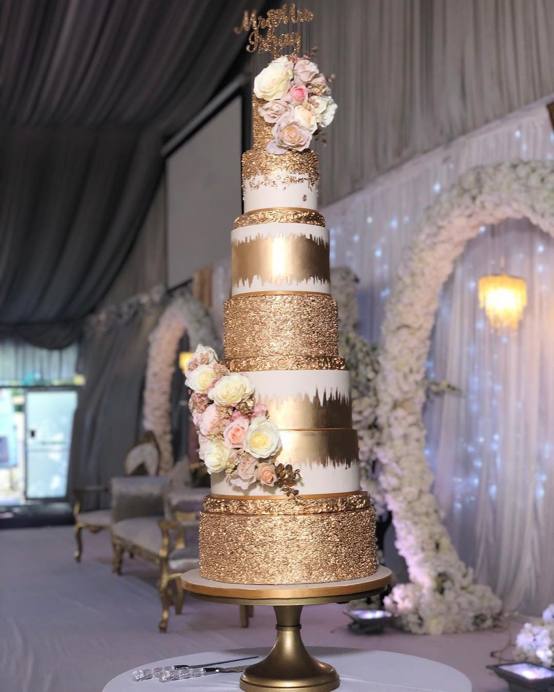 wedding cake trends wonderful gold cake zs cakes