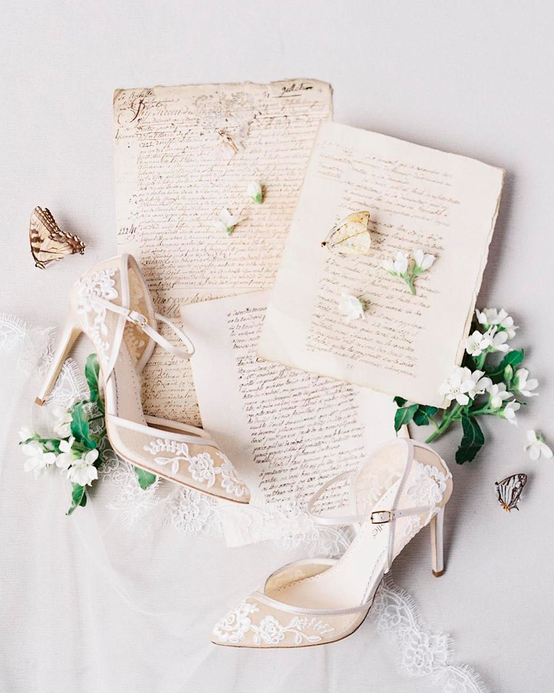 wedding poems shoes flowers