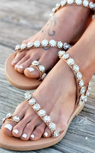 wedding sandals featured