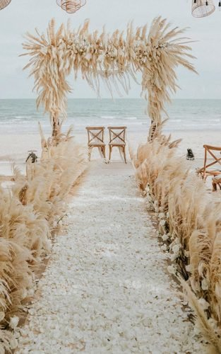 beach wedding decoration ideas featured hipster weddings asia