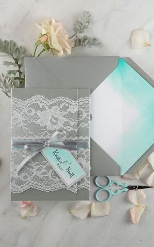 best diy wedding invitations can create right home ombre lace elope