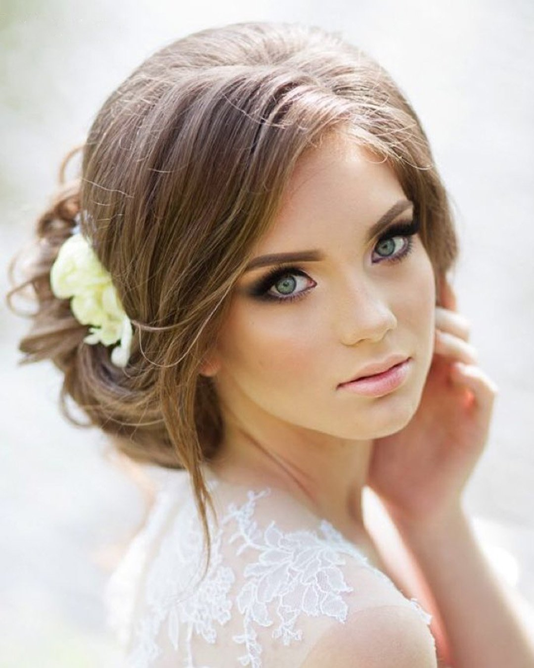boho wedding makeup classic natural pink lips elstilespb