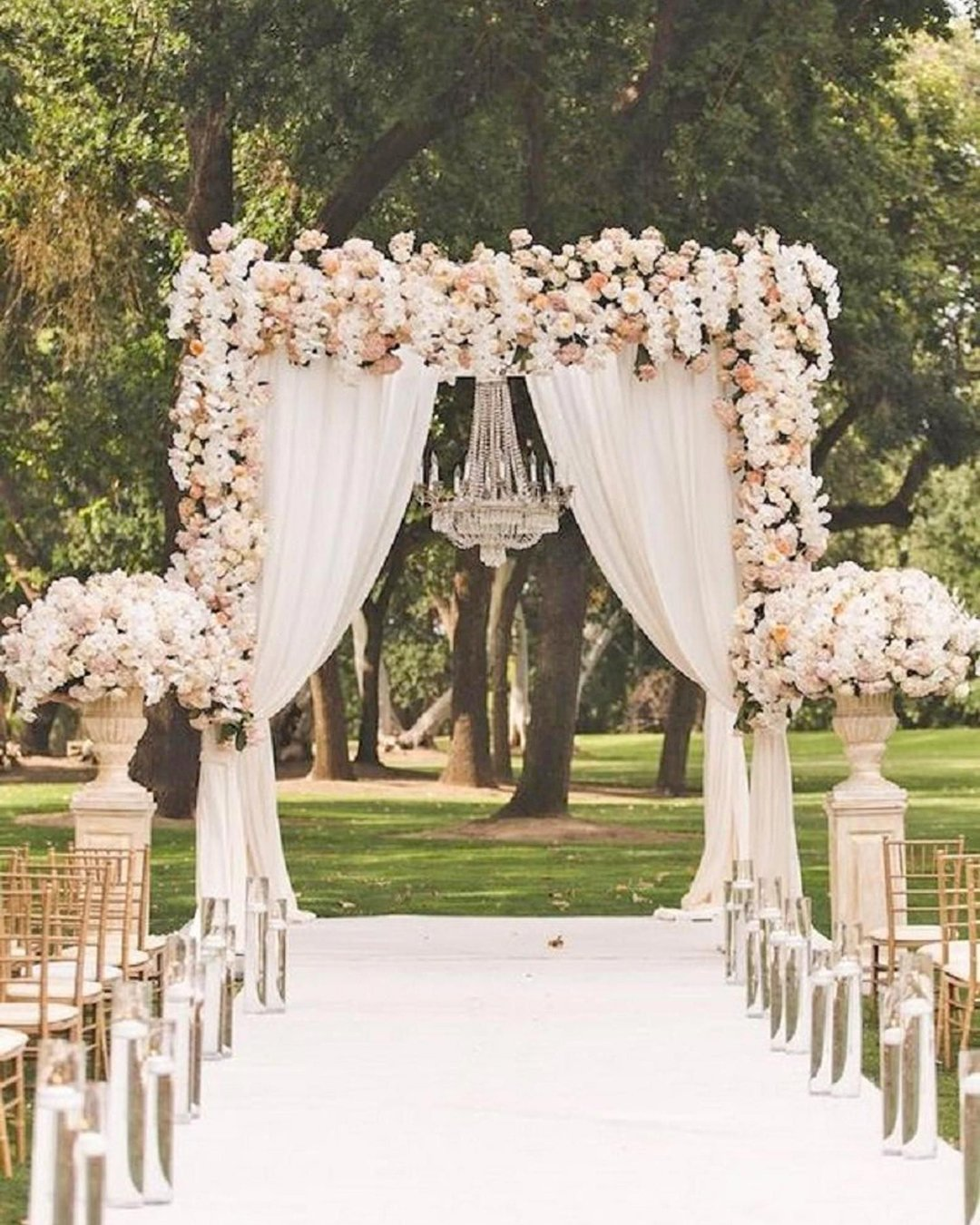 nude wedding photos flower arch reverie
