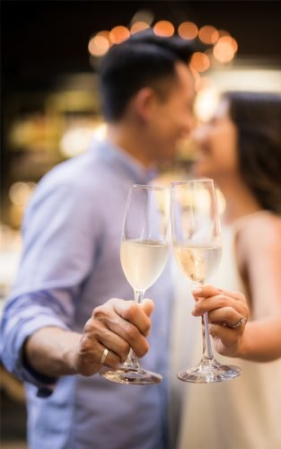 who to invite to an engagement party couple